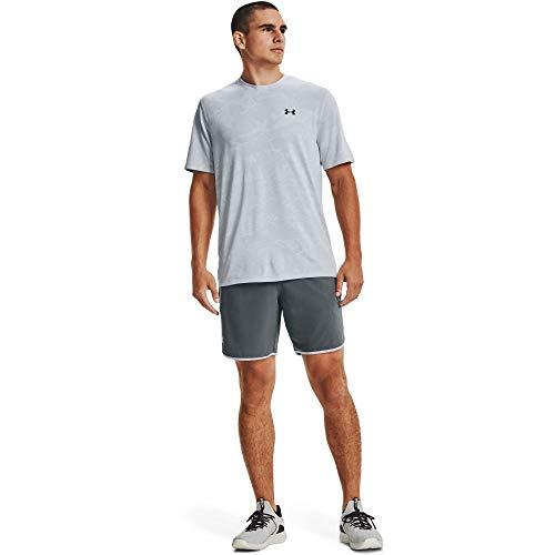 Under Armour Pantalones cortos de tren calificador para hombre - 1361435, qualifier - pantalones cortos de tren, XXL, Parcela Gris (012)/Mod Gris