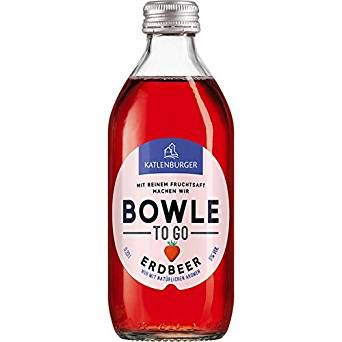 Katlenburger Bowle to Go Erdbeer (330 ml) - 4504073040