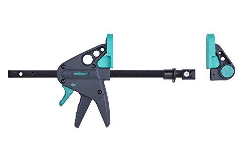 Wolfcraft 1 Werktischspanner / Flächenspanner, 3036000, Schwarz