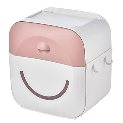 N/A. Portarrollos de papel higiénico para baño, montaje en pared, impermeable, estante de almacenamiento, 2 colores opcionales