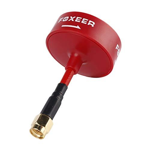LIUXING FOXEERAntena 5.8GHz RP-SMA Omni Circular Polarized RHCP for FPV (Versión Mini) XING ( Color : Red )