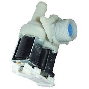 Magneetventiel voor wasmachine; 2-weg 90¡ 13,5 mm 481227128558 WHIRLPOOL, INDESIT