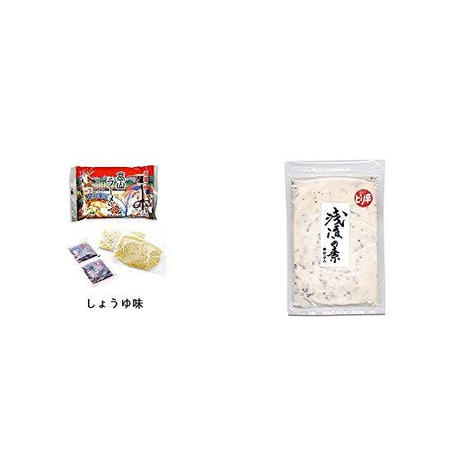 [2点セット] 飛騨高山ラーメン[生麺・スープ付 (しょうゆ味)]・浅漬けの素[小](150g)