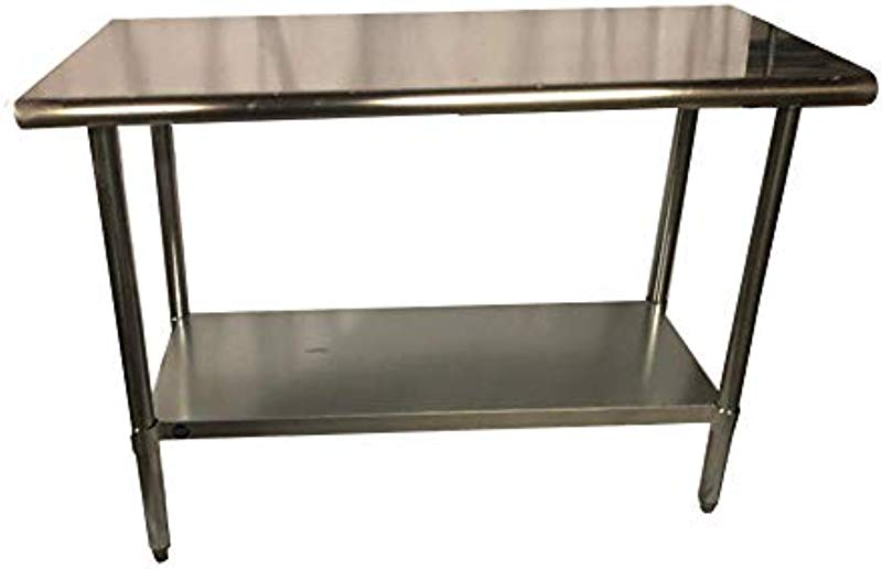 Stainless Steel Kitchen Food Prep Work Table 18 X 30 NSF Heavy Duty