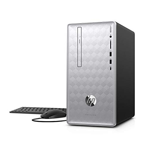 2018 Flagship HP Pavilion 590 Business Desktop, Intel Six-Core i5-8400 up to 4GHz 16GB DDR4 512GB SSD + 1TB HDD 2GB AMD Radeon RX 550 DVD Bluetooth 4.2 802.11ac USB Type-C Keyboard & Mouse Win 10