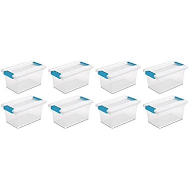 STERILITE Box Clip Medium Clear