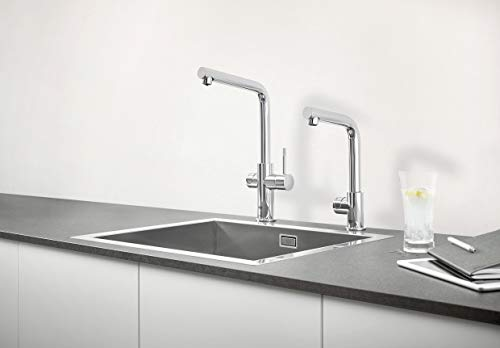 Grohe Blue Home Duo – 2-in-1 Trinkwassersystem und Küchenarmatur (gekühlt, gefiltert, mit Kohlensäure, L-Auslauf) 31454000 - 8