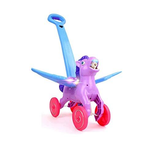Bdesign De los niños al aire libre electrónica burbuja Mower, empujan el coche de la mano de la burbuja de los niños coche con la música, la burbuja que sopla del cortacésped juguete al aire libre for