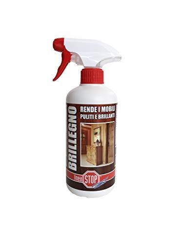 Linea Stop Professional Solutions Brillegno Detergente per Legno, nd, Taglia Unica