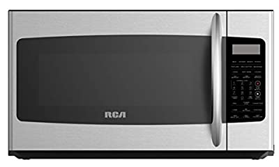 RCA RMW1749-SS 1.7 cu ft Over-The-Range Microwave Oven in Stainless Steel with Sensor, Convection and Grill Function