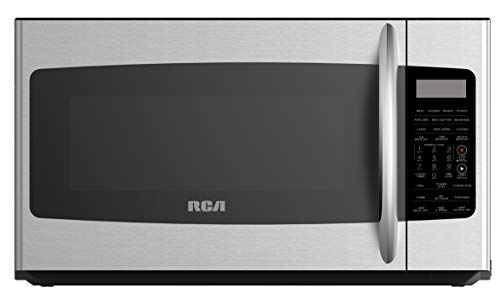 RCA RMW1749-SS, Microwave Oven with Sensor, Convection and Grill Function, 1.7 Cubic Feet-Stainless Steel, cu ft
