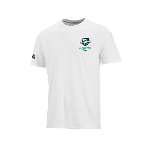Mercedes-AMG Formel 1 Team 2015 Herren-T-Shirt, Schwarz/Weiß