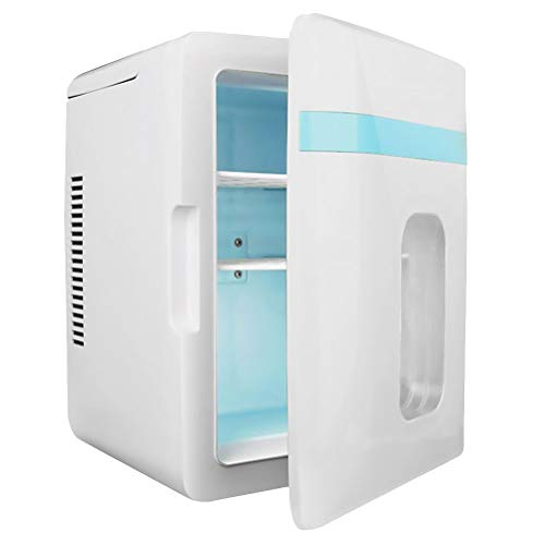 LIXUDECO Mini Nevera Mini 12L12V / 220V Coche Refrigerador Congelador de Verano Frigorífico Dual Frigorífico Mini Frigorífico Herramienta de refrigeración para vehículos para automóviles A50