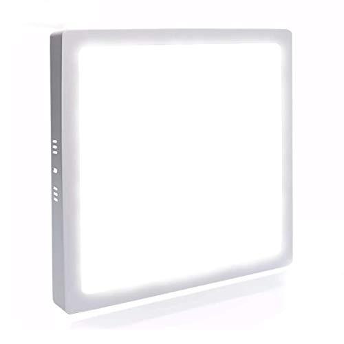 Painel Plafon Led 25w Quadrado Sobrepor - Branco Frio
