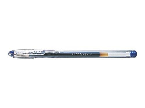 PILOT 11469 Stylo-bille G1 5 écriture fine 0,5 mm encre gel rechargeable corps Translucide