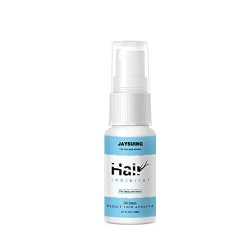 fasloyu Spray & Wipe Haarentfernungsspray, Away Natural Painless Remover Hair Körperpflege, für jeden Körperteil (Bau)