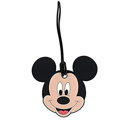 Disney Mickey Mouse Face Luggage Tag