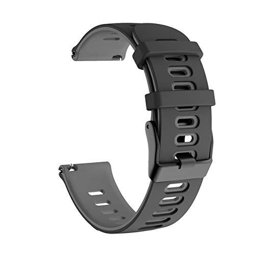 YGGFA 20mm 22mm Silicone Sport Sport Correa para Xiaomi LS05 Pulsera de Correa para Huawei Watch GT GT Wamkband Band para Garmin Forerunner 245 para Samsung Gear S3 Frontier