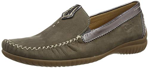Gabor Shoes Damen Comfort Basic Slipper, Braun (Fumo/Argento 31), 39 EU