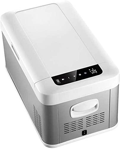 SHKUU Mini Kühlschrank, Mini Kühlschrank Autokühlschrank Kompressor Kühlung Dual Use Kleinwagen Home langlebig