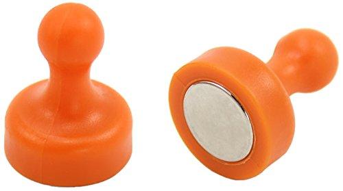 first4magnets F4MSOHP-2 - Bolo para la oficina y nevera (2 unidades), Naranja
