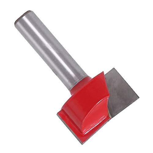 8mm Vástago Limpieza Inferior Fresa Fresadora Fresadora para Madera - 25mm