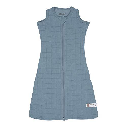 Lodger Unisex baby Hopper Solid slaapzak, (blauw 074), 56/62 (fabrikantmaat: 50/62)