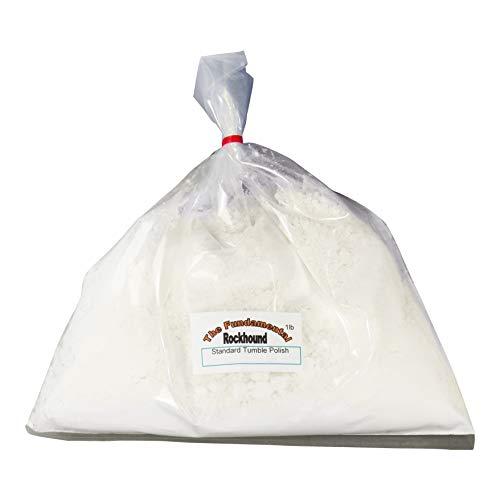 Fundamental Rockhound Products: Standard Tumble Polish for Rocks and Glass, Aluminum Oxide (1 lb)
