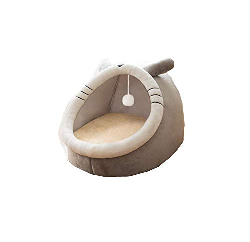 Cat Bed,cat Beds,cat Beds For Indoor Cats,cat Nest Four Seasons Universal Cat Enclosed House Villa Winter Warm Can Be Removed Dog Kennel Pet Supplies.