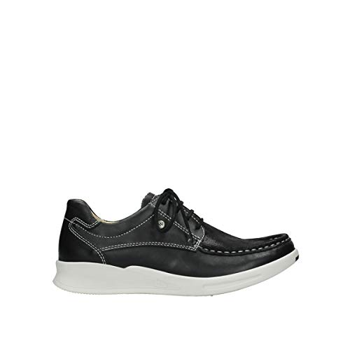 Wolky Comfort Sneakers One - 85070 schwarz-sommerliches Stretchleder - 40