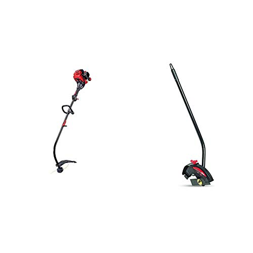 Read About Craftsman CMXGTAMDA25C Curved Shaft Gas Trimmer and Dual Edger Attachment