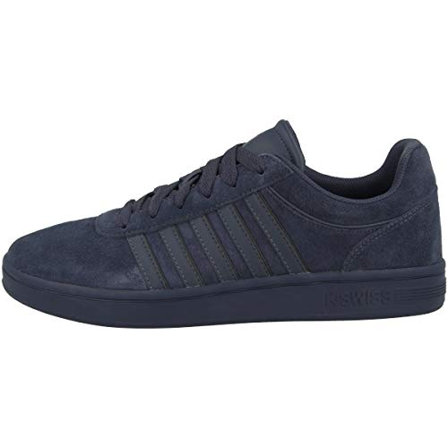 K-Swiss Mens Court CHESWICK SPSDE Sneaker, India Ink/Black, 44 EU
