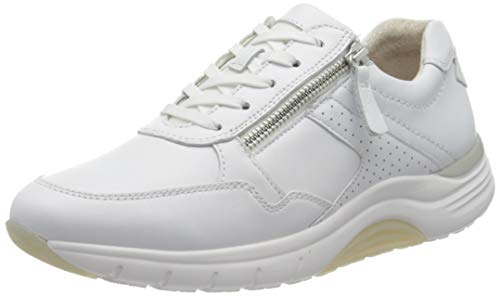 Gabor Damen Rollingsoft 46.938 Sneaker, Weiß (Weiss 50), 39 EU