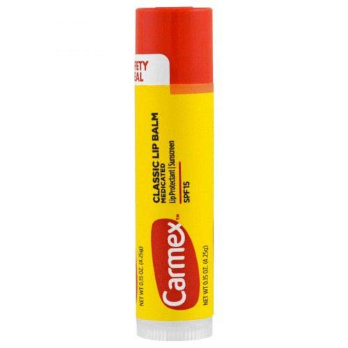 Carmex Classic Lip balm Hidratante labial Strawberry 4.25g.