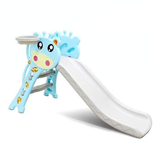 2 in 1 baby speelgoed voor kinderen Slides, met Basketbal Box Indoor Slide Children's, voor Slide Play Slide Climber Kids Children's