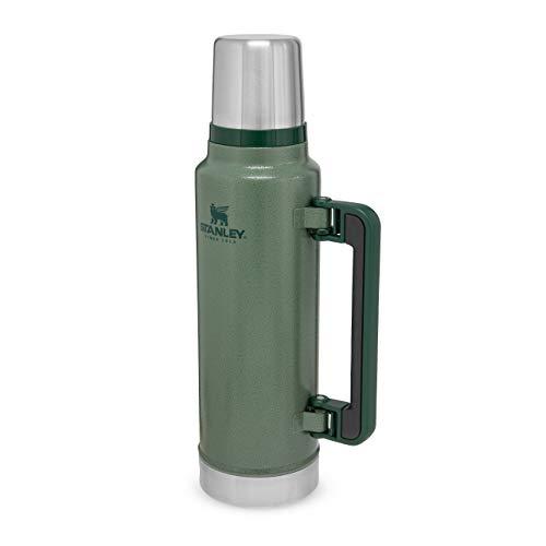 Stanley Classic Vakuum 1,4 Liter Flasche, Andere, Hammertone Green 2020 Edition, 1.4 L