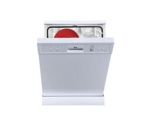 Teka LP8700unter Comptoir du 12places A + Spülmaschine–Geschirrspülmaschinen (unter Comptoir du, weiß, Full Size (60cm), weiß, Tasten, 12Plätze)