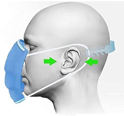 SNOFER Adjustable Face Mask Holder Extender Head Strap Hook Ear Saver for face Mask Strap Extender(Dose Not Damage The Ears)