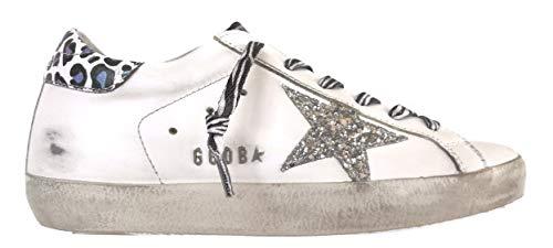 Golden Goose Scarpe Donna Sneaker Superstar Vintage 10221 Leopard (38)