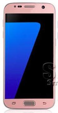 Funnytech Cristal Templado para Samsung Galaxy S7 Pantalla Completa Rosa I Protector de pantalla Transparente para Samsung Galaxy S7 I Vidrio templado antigolpes Kit de instalación incluido