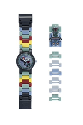 Reloj modificable infantil figurita Boba Fett LEGO