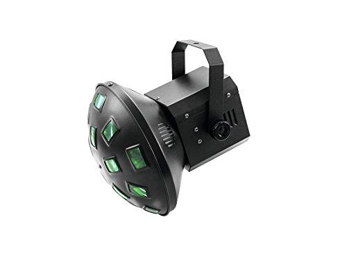 EUROLITE LED Z-20 Strahleneffekt | Kompakter Strahleneffekt mit Lichtstrahlen in 6 Farben (RGBAW+UV