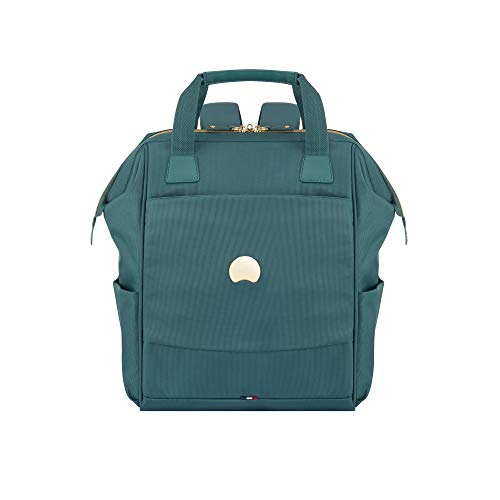 DELSEY Paris Women's Montrouge Laptop Backpack, Sage Green, One Size