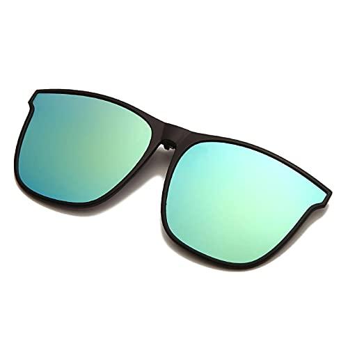NC Gafas de sol polarizadas con lentes cuadradas para conducción nocturna, diseño moderno