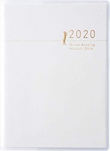 高橋 家計簿 2020年 A6 プチ家計簿 白 No.33 (2020年 1月始まり)