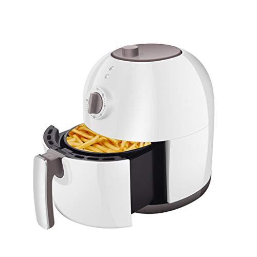 XMYL Heißluftfritteuse Multikocher mit Timer, Fritteuse und Backautomat, Heißluftofen mit 1400W, Frittieren ohne ÖL, 3L, Schwarz