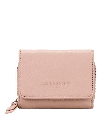 Liebeskind Berlin Damen Bos-Pablita Wallet Medium Geldbörse, Pink (Dusty Rose), 3.4x9x11.5 cm