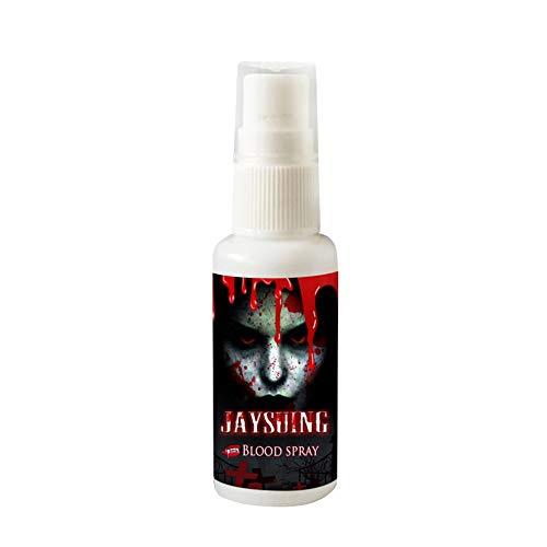 Flacone spray sangue realistico realistico Spaventoso Halloween Horror Party 30ML