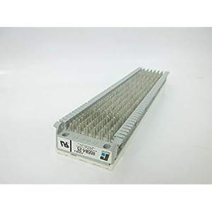 66 Punch Down Block R66B4-25 25 Pair, 6 Terminals Across X 50 Rows, 120 Pins Wiring Connecting Splice Modular Block Telecommunication Telephone Phone FS