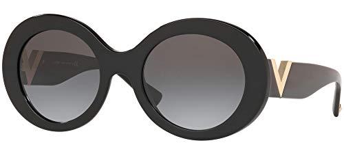 Occhiali da Sole Valentino V LOGO VA 4058 Black/Grey Shaded 52/21/140 donna